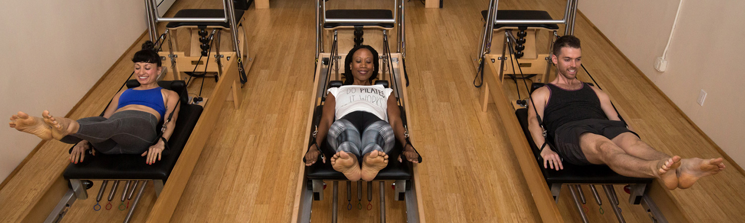 Pilates Duet Session at PilatesWorks